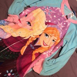 Girls footie pajamas